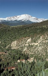 Great views of Pikes Peak & the Garden of the Gods,  Colorado Springs, Colorado. Close to Glen  Eyrie, Colorado College, Colorado City, Manitou Springs, skiing, golfing, & mountain hiking.