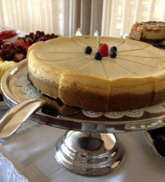 Hollywood 2-Tone Cheesecake