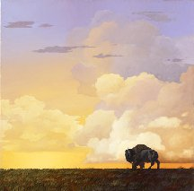 Craig Kosak Bison -- buffalo capture of long ago