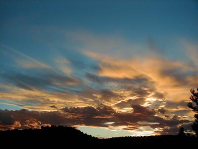 Cerrillos Sunset